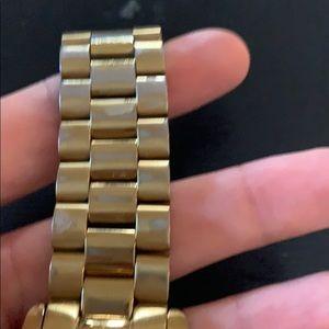 Michael Kors Accessories - Gold Michael Kors oversized Watch